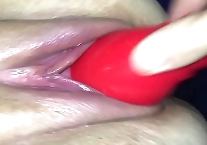 Homemade pussy smashing together with Squirting cumshot