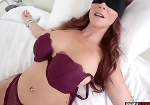 Dirty stepson got a sneaky blowjob from his MILF stepmom