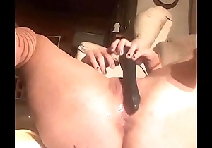 Fucking my wet pussy and tight asshole