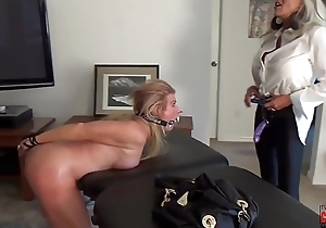 Watch her squirt when I pull my Dildo out for her  ASS  Sally D'_angelo Mandy vixen
