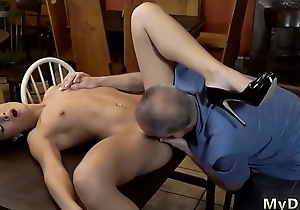 Muscle daddy Can you trust your girlboss leaving her unattended with your