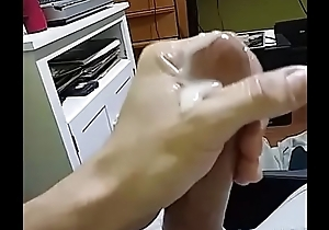 Me busting another huge nut... Big Cumshot &amp_ making a lollygag