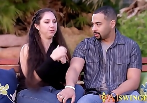 Couple is feeling so hot they engage in pre party love making