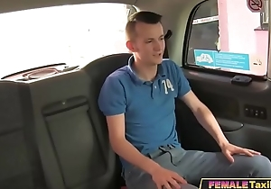 Young Guy Gets Fuck Lessons From Sex Crazed Milf Taxi Driver