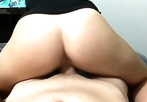 Riding My Friend'_s Cock