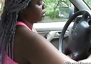 Driving In The Rain Feeling Horny : Nilou Achtland