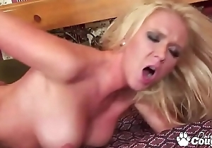 Dylan Riley Has Her Big MILFY Booty Spanked Red