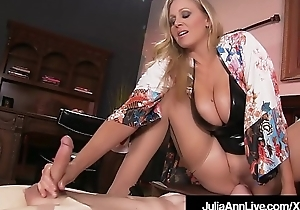 Boy Toy Gets Moterboated By Busty Milf Julia Ann'_s Pussy!