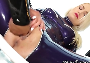 Sapphic Rubber Sex, Lena Love and Victoria Sweet