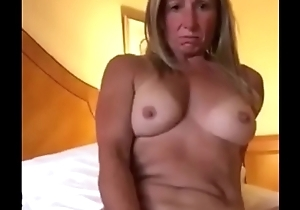 Blonde Milf Pleasuring Her Pussy In Front Of Boyfriend
