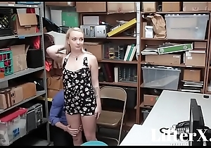 SUBMISSIVE BLONDE TEEN FUCKED- LifterX.com