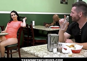 Sexy Big Juicy Ass Teen Mandy Muse Fucked By Guy Beside Sandwich Shop Bathroom