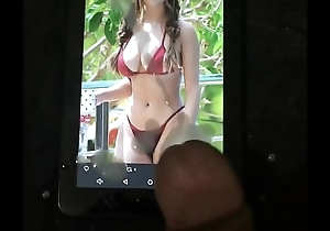 Cumtribute for sexy demi rose