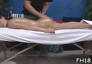 Cute and hot screwed hard by her kneading therapist