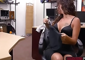 Latina Victoria Banxxx ends up fucked hard in the pawnshop