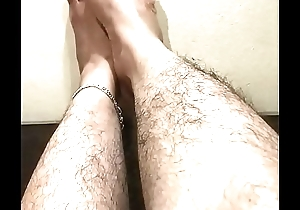 Indian feets flimsy pussy