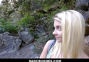 Hot Blonde Shy Tiny Teen Step Daughter Riley Star Gets Step Dad Big Weasel words While On Camping Trip POV