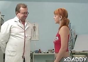 Old stud and young girl are fucking like crazy, all day long