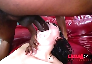 Juicy sweet ass Mandy Muse almost DP full of gapes and balls deep action