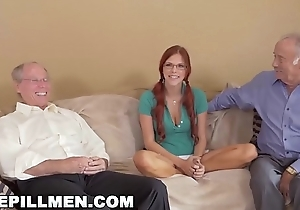 BLUE PILL MEN - Frankie With an increment of A difficulty Gang Take A Trip Down Unworthy of Teen Zara Ryan