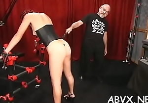 Young babe loves the coarse play on their way bush-leaguer pussy
