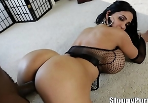 Lexington Steele and Amy Anderssen with huge boobs!