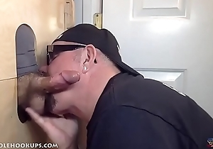 Homemade Amateur Glory Hole Action