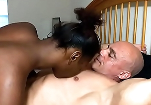 Special licking leads to creampie