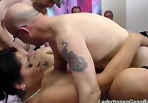real german groupsex party