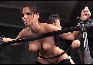 Extreme! Busty mature lady tied and abused by a handful of guys!!! -Punishland.com