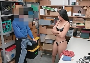 Teen sucked cock to spare newcomer disabuse of the jail