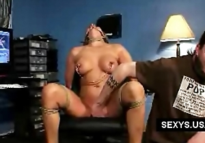 Office forced girl