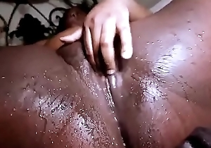 Big black cock fucking cuckold wife in front of husband