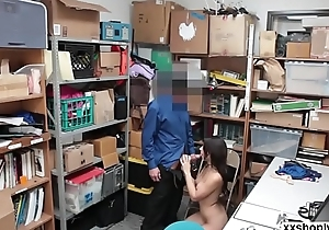 Shoplifter Taylor gets fuck by LPs cock