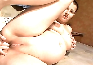 Beautiful Pregnant Girl Masturbating