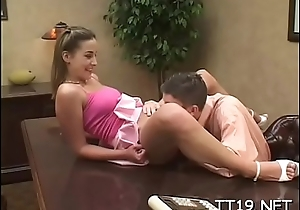Nice-looking juvenile babe spreads wide be expeditious for her teacher'_s dick