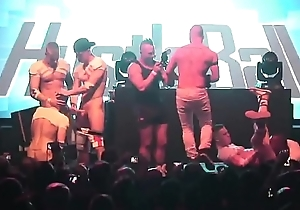 gay sex party on stage