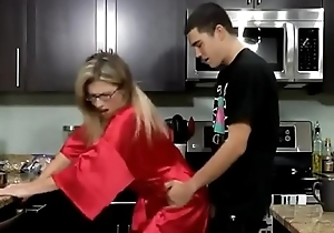 Stepmom &amp_ Stepson Affair 62 (Unexpected Breakfast)